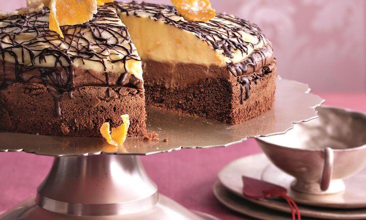 Tort de ciocolată cu portocale Rețetă: Exemplar de lux - Una dintre sutele de retețe delicioase de la Dr. Oetker!
