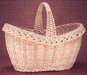 Pattern: Old Fashioned Oval Basket By Flo Hoppe
