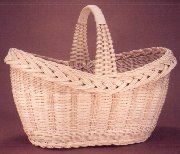 Pattern: Old Fashioned Oval Basket By Flo Hoppe