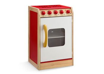 Colourful Wooden Kitchen Oven Stove – 40x35x66cm