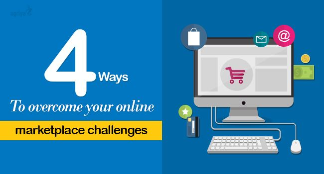 4 ways to overcome your #onlinemarketplace challenges  Check out: http://www.clonescripts.co/2015/10/4-ways-to-overcome-your-online-marketplace-challenges.html