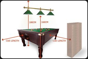 Room size Pool table