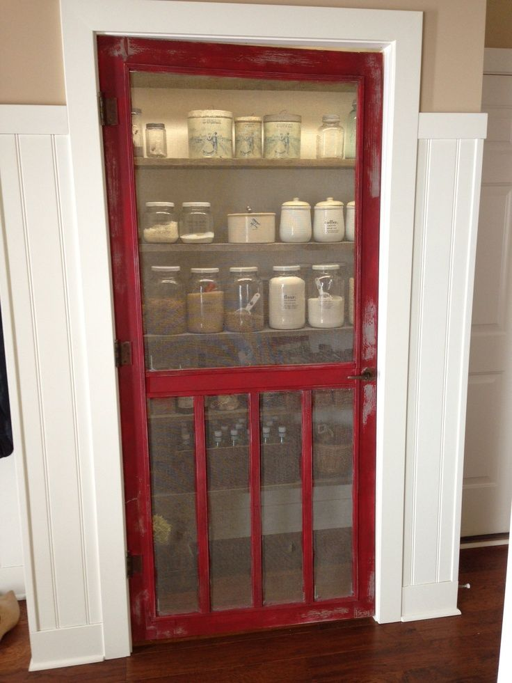 25 best ideas about screen door pantry on pinterest for Kitchen pantry doors home depot