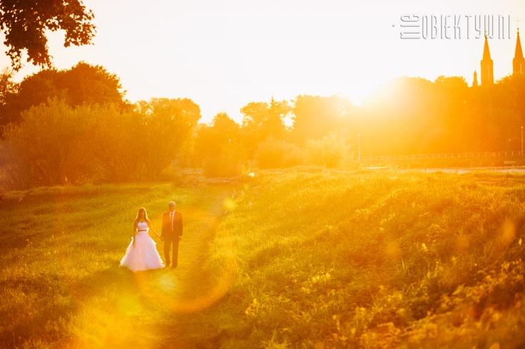 Sunny Wedding Portrait