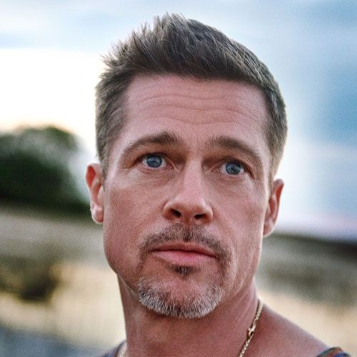 Brad Pitt Haircut Brad Pitt Haircut Brad Pitt Short