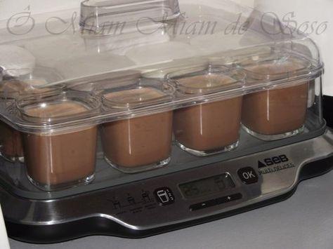 crème au chocolat au lait concentré non sucré