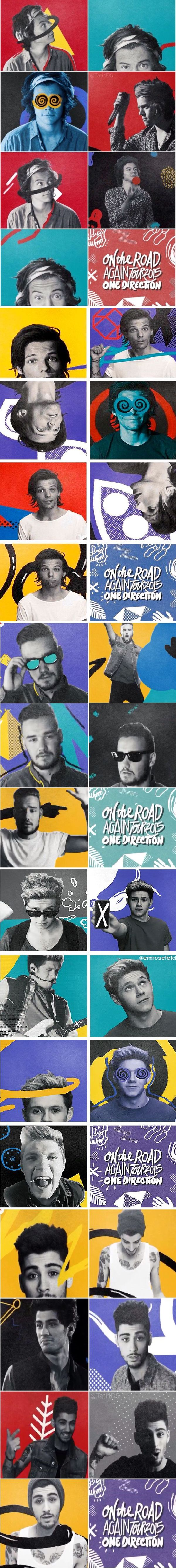 ONE DIRECTION-ON THE ROAD AGAIN TOUR