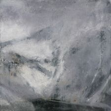 Ørnulf Opdahl/A lake in the mountains, oil on canvas 2012 (80x80cm)  The artist is from Ålesund, Norway
