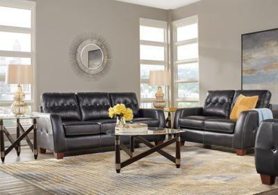 Leather Living Room Sets & Furniture Suites