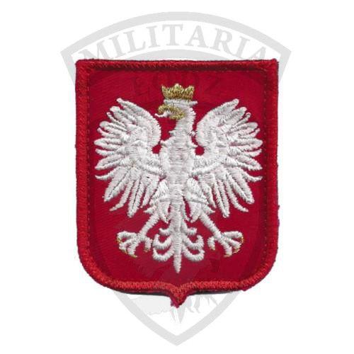 Naszywka GODŁO POLSKI czerwone Militaria Łódź.pl