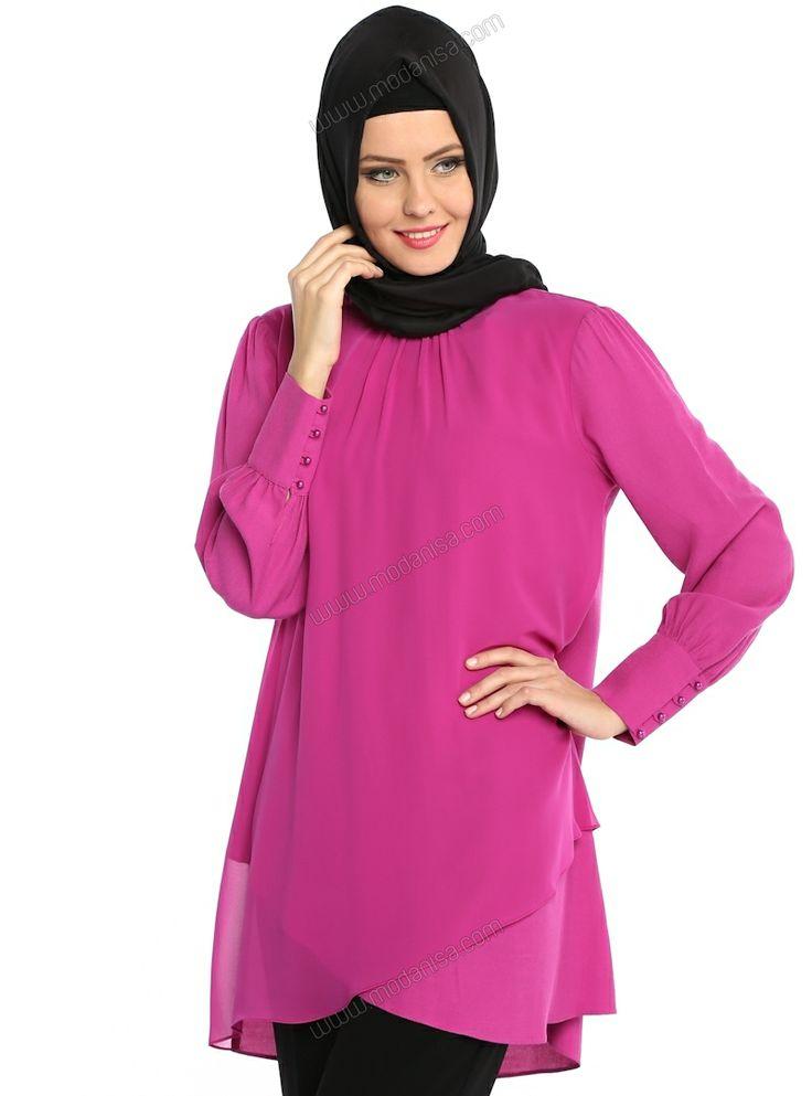 Aker #islamic #tunic #tunik #pink