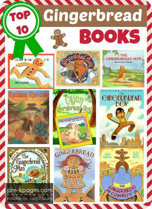 Top 10 Best Gingerbread Books for Preschool and Kindergarten