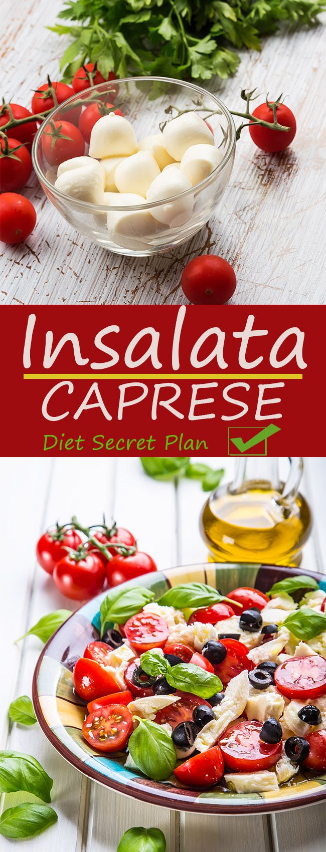 INSALATA CAPRESE Recipe – Diet Plan – Perfect Body Secret
