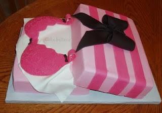 Victoria Secret Lingerie Shower Cake