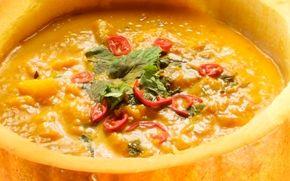 Halloween-kurpitsakeitto / Halloween pumpkin soup
