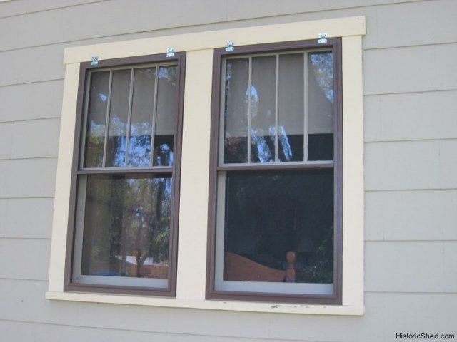 Wood window screens for a historic house in Largo, Florida ...