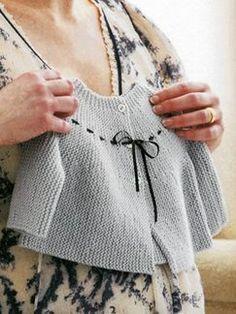 Debbie Bliss - Garter Stitch Jacket