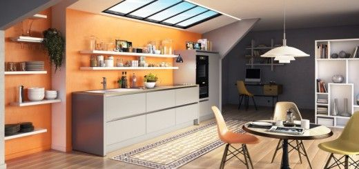 In all areas, the lighting is essential to create a friendly, warm atmosphere and cosy. In the kitchen, lighting can be granted according to your needs. You can integrate a working to cut your vegetables or for your other culinary preparations and an indirect lighting