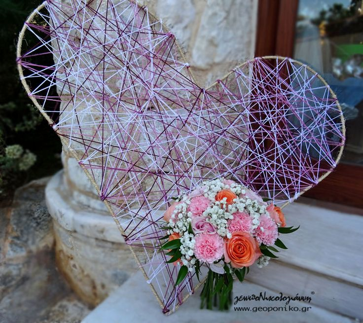 νυφικό μπουκέτο ρε ροζ, σομον αποχρώσεις_ bridal bouquet