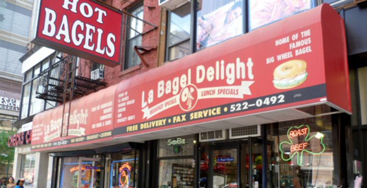 Best bagels in the world and served by off duty firefighters!!! La Bagel Delight - Google Search