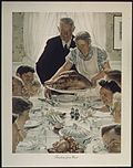 Four Freedoms (Norman Rockwell) - Freedom from Want
