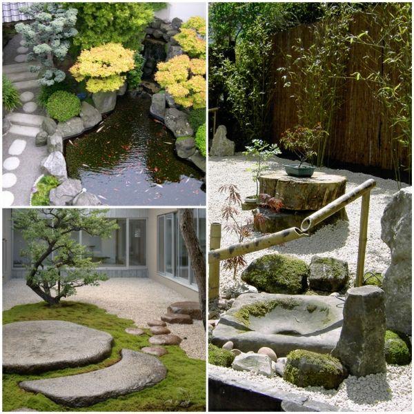 gartengestaltungsideen moderner steingarten steingarten bilder