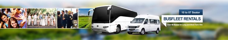 Cost Of Hiring A Minibus rentals, Party Bus Hire with over 40 buses to choose from 10 seaters to 57 seaters. We have self-drive, bus driver supplied and fully tour guided bur rental options.