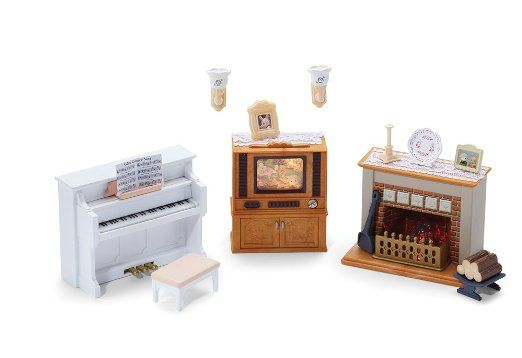 81 Best Calico Critters Images On Pinterest Sylvanian Families Doll Houses And Cake Toppers