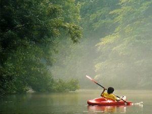 Rustig kanoën