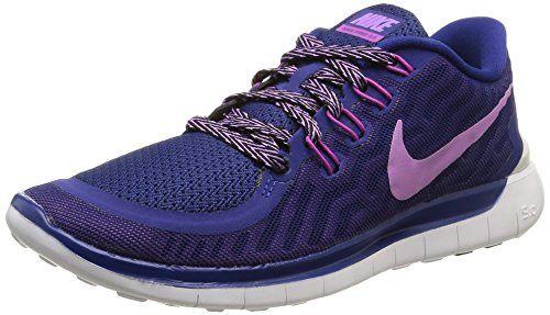 Nike Free 5.0, Damen Laufschuhe, Blau (Deep Royal Blue/Fuchsia Glow/Fuchsia Flash), 39 EU (5.5 UK) - http://on-line-kaufen.de/nike/39-eu-nike-free-5-0-damen-laufschuhe-7