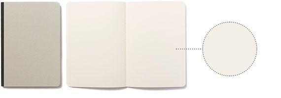 Album da disegno in carta uso mano di alta grammatura. Pura cellulosa a fibre lunghe per una perfetta tenuta di matite, pastelli e inchiostri. Legatura bodoniana in carta editoriale anti-impronta, dorso in tessuto e cucitura a filo refe bianco. collezione: arte & mestieri dimensioni: 15·21 cm copertina: rigida rilegatura: dorso in tela tipo di pagine: bianche n. di pagine: 44 grammatura: 170 gr colori: grigio