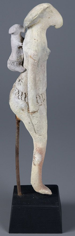 Egyptian Woman and Child, terracotta, Before 3200 BCE, Memorial Art Gallery Collection