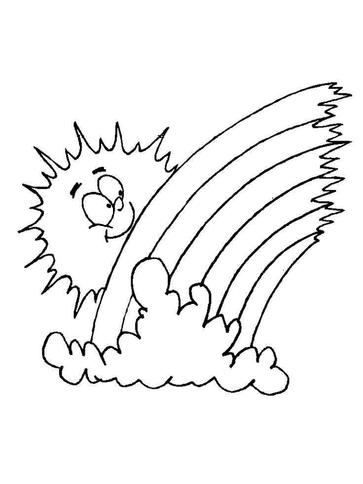 Weather Coloring Pages | Coloring pages, Coloring pages to print ... | 981x736