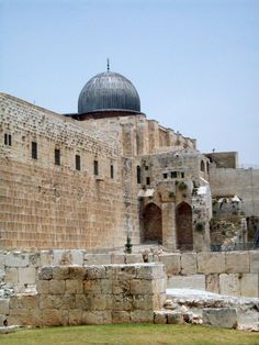 Steps To The Original Temple In Jerusalem
