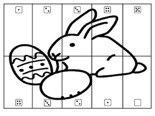 Free!! Roll the dice Easter puzzle! Fun math activity or Roll and color reinforcer!!!
