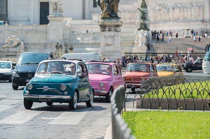 Simpatiche 500 d'epoca dai colori pastello. Симпатичные 500 эпохи пастельных цветов.