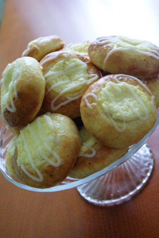Moje Wypieki | Drożdżówki z białym serem