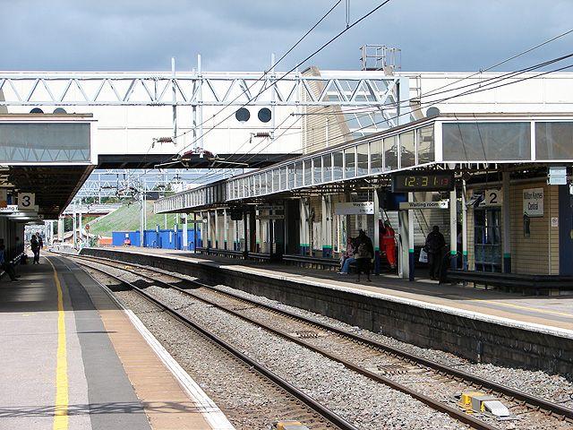 Milton Keynes Central Railway Station (MKC) in Milton Keynes, Buckinghamshire