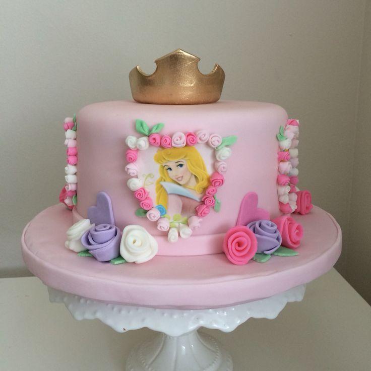 15 best Princess aurora birthday cakes images on Pinterest