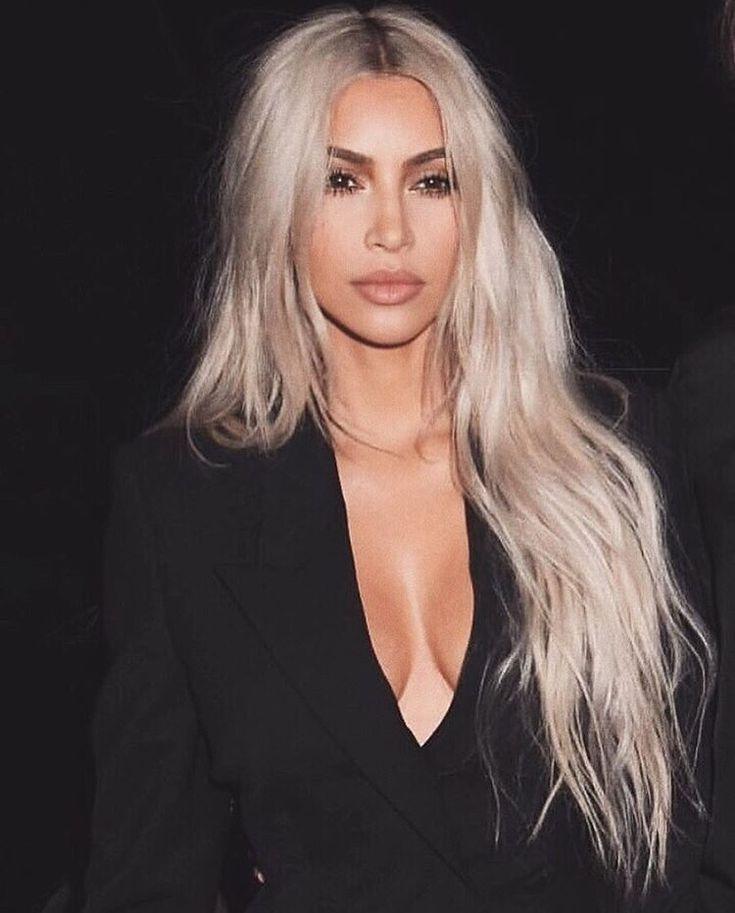 Kim Kardashian Long Blonde Hair Kardashian Hair Kim Kardashian Hair Kim Kardashian Blonde