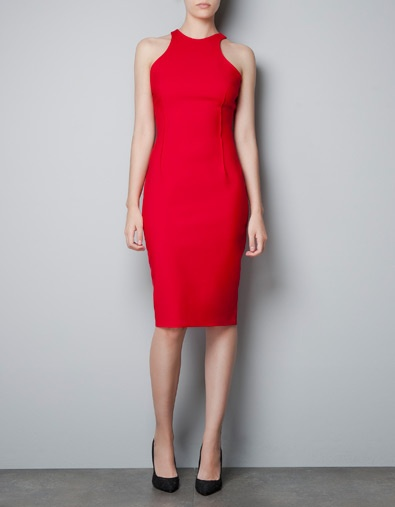 Racerback dress +ZARA -- this is a need. even if I have to wear it to the grocery store to get any use.