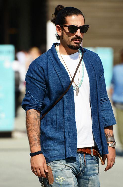 hair sunglasses streetstyle great look jeans denim, fashion men