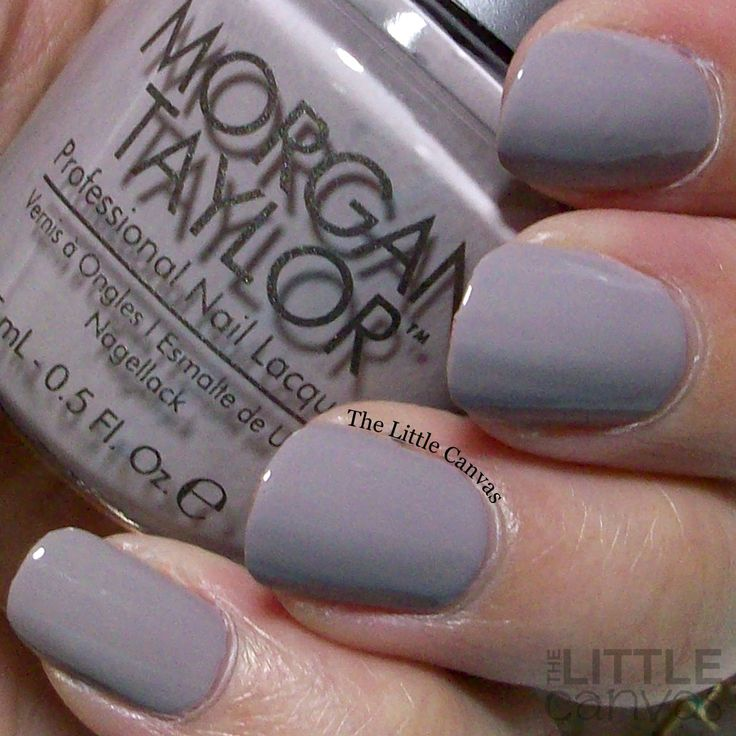 Morgan Taylor: ❤ Rule the Runway ❤ ... a light grey cream nail polish, which almost leans to a taupe like shade,  from the Sweetheart Squadron Collection 2016