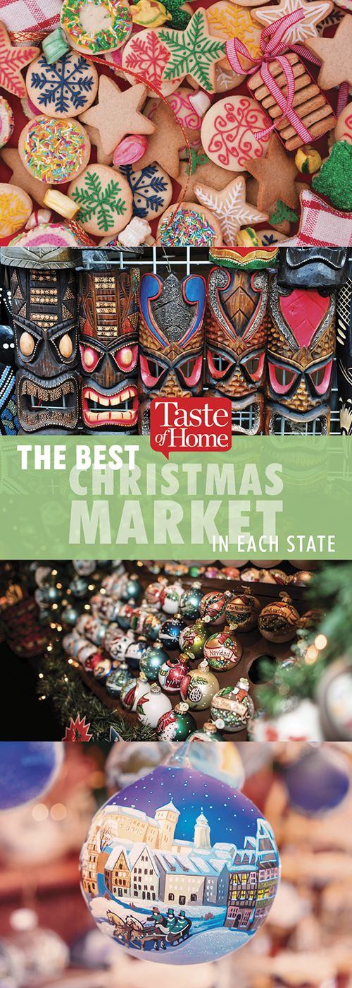 The Best Christmas Market in Each State