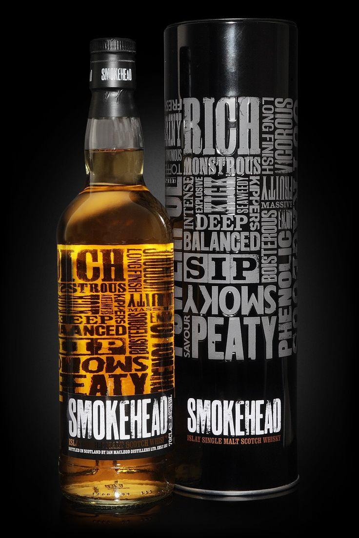 SMOKEHEAD ISLAY SINGLE MALT SCOTCH WHISKY   LCBO 52530   750 mL bottle     Price $ 59.95     Made in: Scotland, United Kingdom   By: Ian Macleod And Co. Ltd.     Spirits, Whisky/Whiskey, Single Malt Scotch  43.0% Alcohol/Vol.