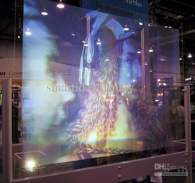 glass projection screen The first 100% holographic glass screen is now available there is rear projection glass screen, back projection inbetween glass, holoprojection in glass, holo video in glass or make your own holotv in glass like a holomovie in glass.