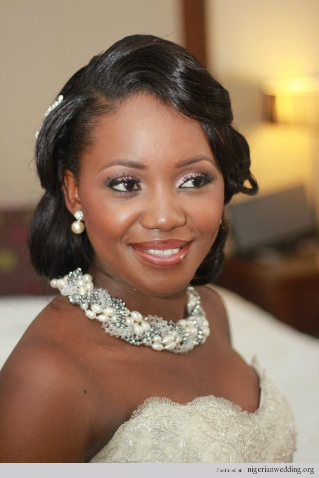 Outstanding 1000 Images About African American Wedding Hairstyles On Short Hairstyles Gunalazisus