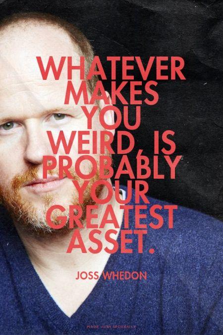 Everyone is weird!