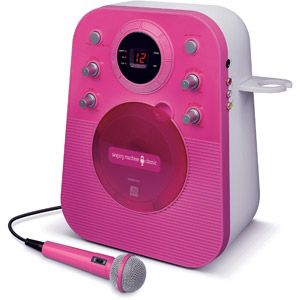 Singing Machine SMG303P Portable Mini Plug n Play Karaoke CDG Player with Microphone -- $50 target or walmart