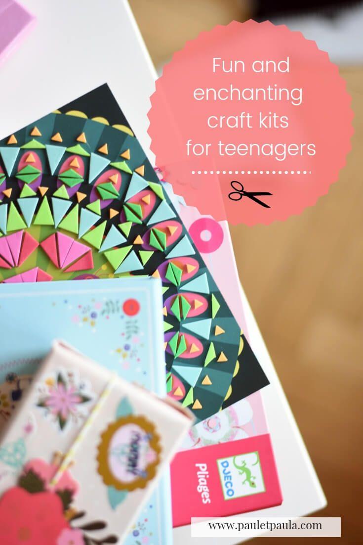 Fun And Enchanting Craft Kits For Teenagers Craft Kits Crafts